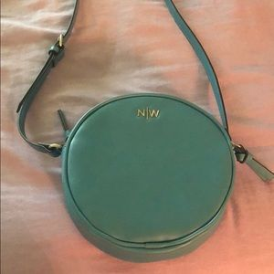 CUTE turquoise over the shoulder Nine West bag